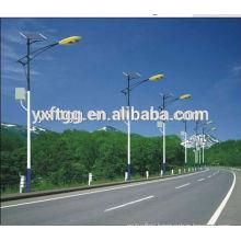 2015 best sale hot dip galvanized solar power energy street light pole
