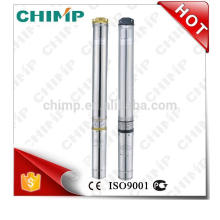 "CHIMP 4"" 4m3/h 0.37kW single-phase automatic stainless steel borehole submersible pump"