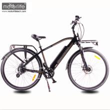 2017 зеленый мощность новый дизайн 36V350W города электрический велосипед с спрятанной батареей,низкая цена электровелосипедов с мотор 8fun