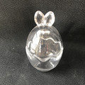 Easter Day Glass Bunny Egg Jars