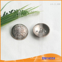 Botón de aleación de zinc y botón de metal y botón de costura de metal BM1655
