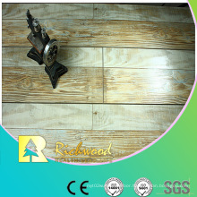 12.3mm AC4 Hand Scraped Oak V-Grooved Laminate Flooring