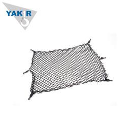 Motorcycle elastic luggage mesh cargo net with hook