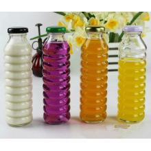 330ml botellas de vidrio de la bebida para el envase del jugo de fruta
