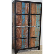 Industrial Recycled Wooden Wardrobe