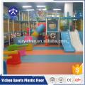 Safety Children Aire de jeux intérieure PVC Daycare Flooring