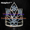 7inch Crystal Snowflake Crowns Christmas Crowns