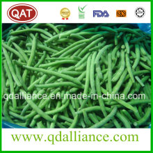 Frijoles verdes enteros congelados con FDA, certificado de Brc