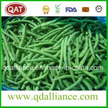 Haricots verts entiers congelés avec certificat FDA, Brc