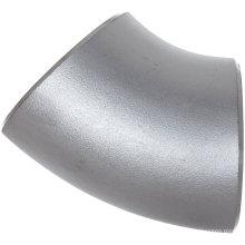 Raccords en acier inoxydable à coude Lr 45 degrés