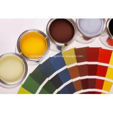 Peinture en poudre à base d'oxyde de zinc et de stéarate de zinc