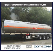 Factory Tri-Axle 40000-50000L Compartment Fuel Tank Semi Trailers