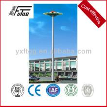 Especificação de postes de iluminação de mastro alto