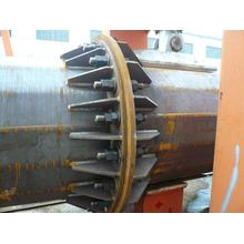 Flange Joint Power Pole
