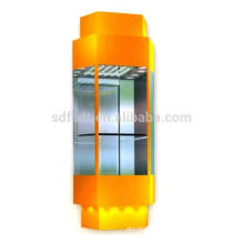 sighting elevator with high quality,1.0m/s,1000kg,1600kg