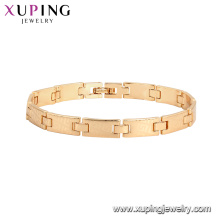 75787 xuping Environmental Copper fashion jewelry gold women bracelet