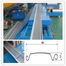 Fente à grande vitesse Ce et la lamelle de porte de volet de roulement en métal de qualité d'OIN formant des machines