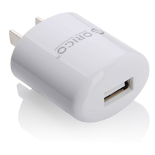 ORICO Single Port USB AC tragbare Wandladegerät, ORICO DCX-1U Ladegerät Stecker Stecker Adapter