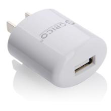 ORICO cargador de pared portátil USB AC de un solo puerto, ORICO DCX-1U cargador adaptador de conector de conector
