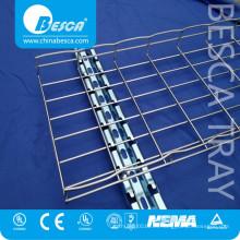Fábrica profesional de alta Quanlity Bandeja de acero Proveedor Bandeja de cables de alambre de acero Lista de precios