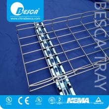 Usine professionnelle haute Quanlity Steel Tray Fournisseur acier fil Cable Tray Liste des prix