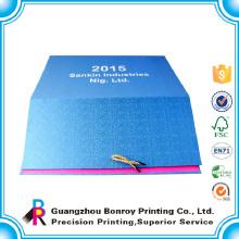 Guangzhou Fabrik Kunst Papier benutzerdefinierte 2017 monatlichen Kalender Großhandel