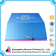 Guangzhou factory art paper custom 2017 monthly calendar Wholesale