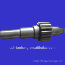 Customized gear shaft/plastic gear
