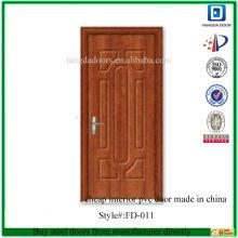дешевые двери из ПВХ сделано в Китае