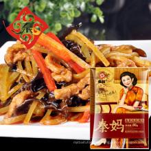 Neueste billige Fisch Geschmack Schweinefleisch Scheiben Sauce in Alibaba