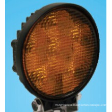 Amber Strobe Close Flood Beam LED Work Light
