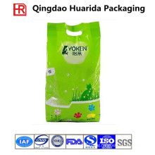 Stand up Plastic Cat Litter Packaging Bag with Handle Hole