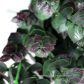 decorative natural artificial bunch plants with purple