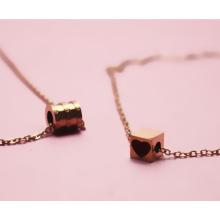 Модный золотой цвет элегантное ожерелье в стиле звезды