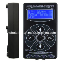 Alta calidad huracán Digital LCD tatuaje fuente de alimentación (HB1005-37)