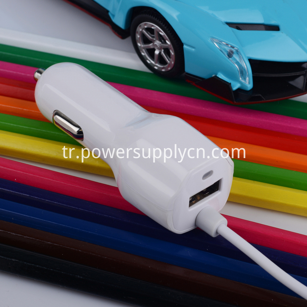 5v 2.1a usb car charger