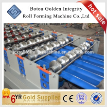 Corrugated iron roofing sheet forming making machine