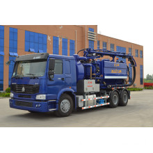 10000L Vacuum Tanker Truck with Jetting and Recycling Facility (RHE2012012611)