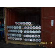 Barres et tiges rondes en alliage d'aluminium extrudé 2A12 / 2A06 / 6061/6063/6082/7075