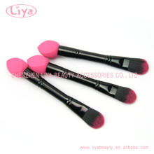 2014 new style duo end makeup show brush
