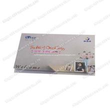 Einladungskarte, musikalische Karten, sprechende Karte, Visitenkarten