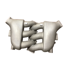 Chinese aluminum foundry supply OEM casting intake manifold with good quality