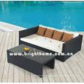 PE Rattan Wicker Outdoor Furniture Sofa Set Bg-Mt05