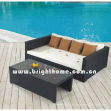 PE Rattan Wicker Outdoor Furniture Sofa Set Bg-Mt05