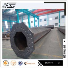 Factory source for 30ft Galvanized Steel Pole Hot Dip Galvanized 20m High Mast Steel Pole export to Myanmar Manufacturer