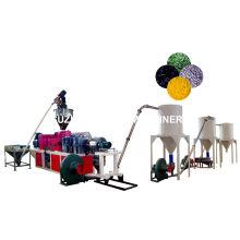 PVC-Hot Cutting Pelletizing Linie PVC Granulat Extruder