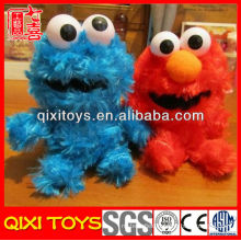 Soft cute purple cookie monster plush toys