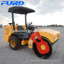 3 Ton Rubber Tire Road Roller for Sale (FYL-D203)