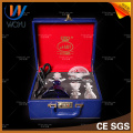 Shisha Nargile Single Pipe mit Ledertasche Huka