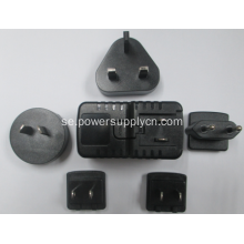 2000ma 5V 2A Avtagbar Plug Switching Power Adapter